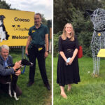 Members of the Senedd meet VIPs (Very Important Pooches)during visit to Dogs TrustBridgend